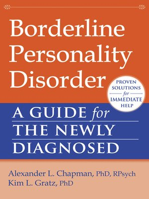 cover image of Borderline Personality Disorder